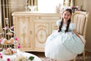 シンデレラの子供ドレス