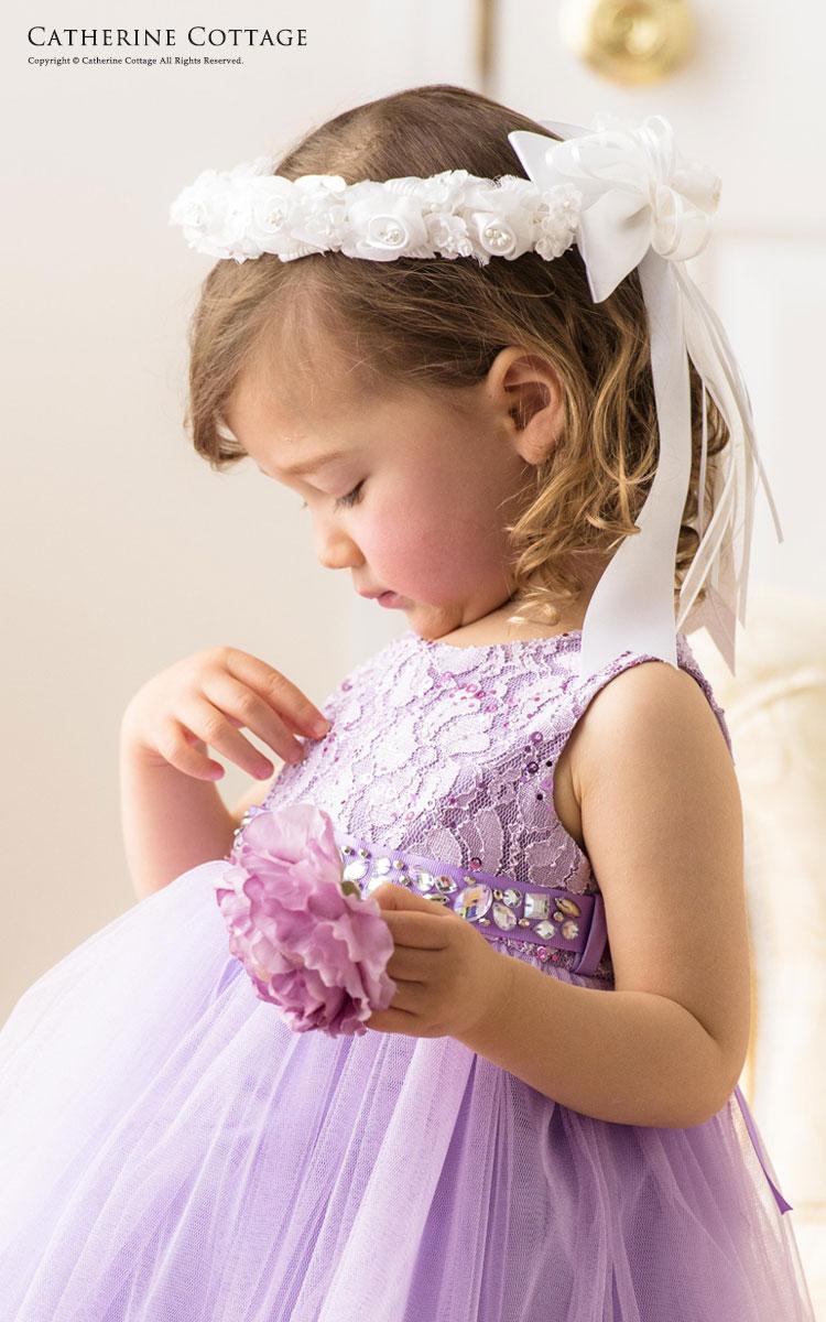 53099aff24444 春の結婚式、発表会にぴったり! 新作輸入ドレス&フラワーティアラ ...