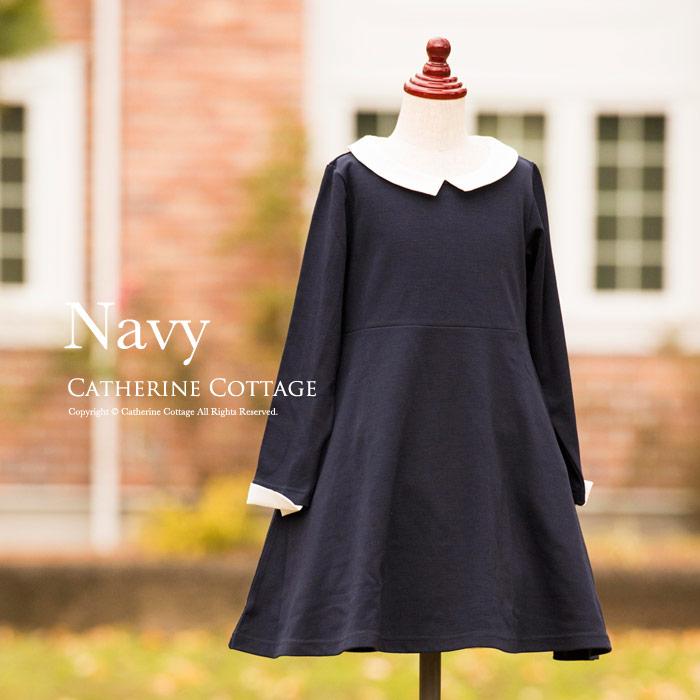 11b1828ed4e86 見せたいのはおりこうさんな印象! 知的「ネイビー」の子供ドレス ...