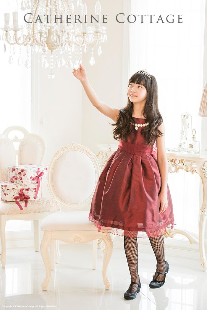 555c5ce78590e 情熱の赤! レッドドレス特集 赤の子供ドレス10選