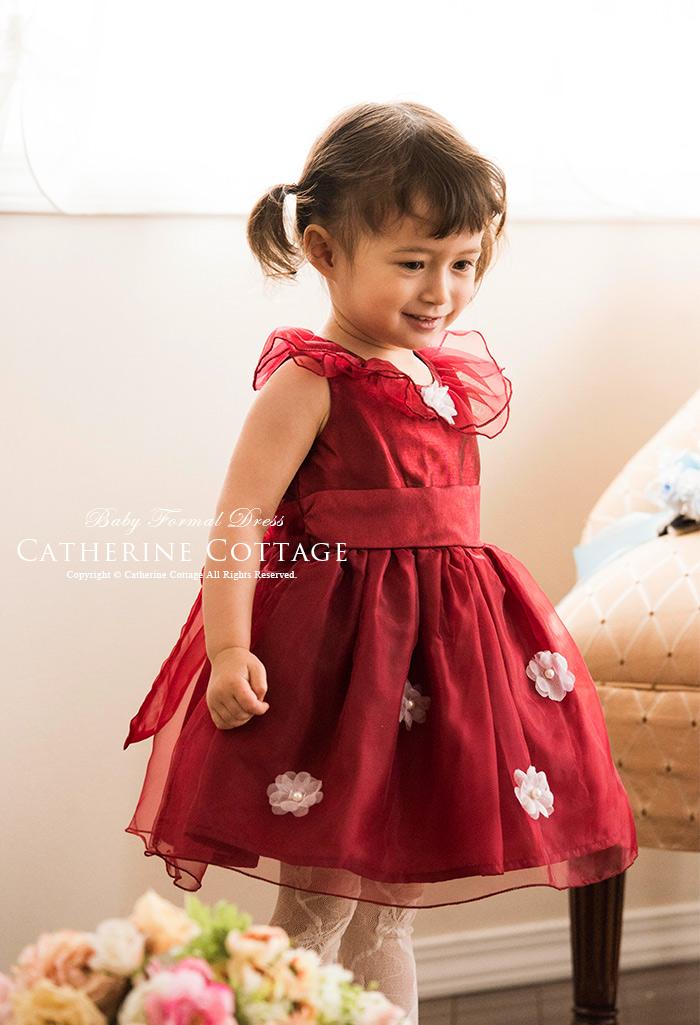 d1a83f7d57524 妖精のようなオーガンジーとお花のカラードレス 80~100cm