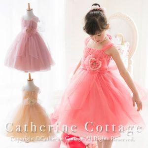f998c23e94227 チュール素材がふわっふわのドレス! やわらかな春の陽射しに、まるで妖精のような佇まい!  春に溶け込む、淡いピンク、ゴールド、または春に映えるコーラルピンクでご ...